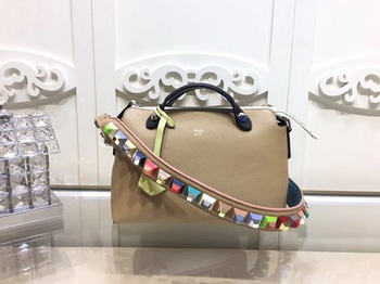Fendi BY THE WAY Bag Original Calfskin Leather F2689 Apricot