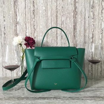 Celine Belt mini Bag Original Leather C98310 Green