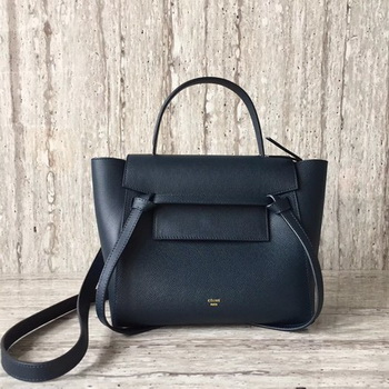 Celine Belt mini Bag Original Leather C98310 Royal