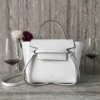 Celine Belt mini Bag Original Leather C98310 White