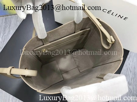 Celine Cabas Phantom Bags Original Leather C3365 Apricot