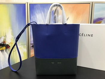 Celine Cabas Phantom Bags Original Leather C3365 Blue&Green