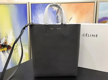 Celine Cabas Phantom Bags Original Leather C3365 Deep Grey