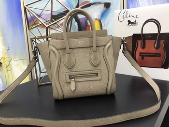 Celine Luggage Nano Tote Bag Original Leather CA3560 Apricot