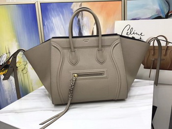 Celine Luggage Phantom Tote Bag Calfskin Leather CT3372 Apricot