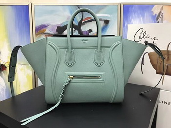 Celine Luggage Phantom Tote Bag Calfskin Leather CT3372 Green