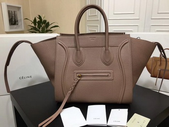 Celine Luggage Phantom Tote Bag Calfskin Leather CT3372 Pink