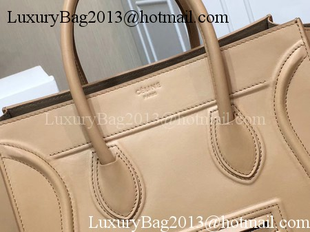 Celine Luggage Phantom Tote Bag Smooth Leather CT3372 Apricot
