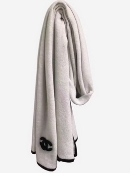 Chanel Scarf A2830 OffWhite