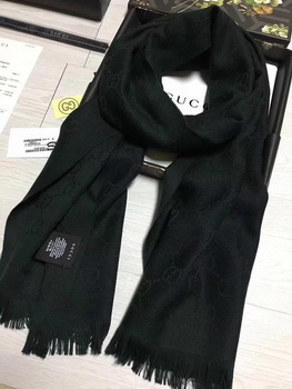Gucci Scarf G2827 Grey