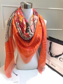 Gucci Scarf G2828 Orange