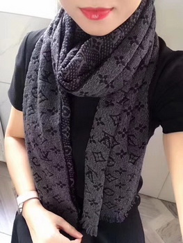 Louis Vuitton Scarf A2360 Grey