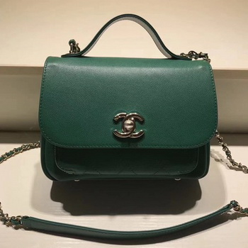 Chanel Classic Flap Bag Original Leather CHA3269 Green