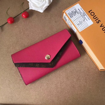 Louis Vuitton CRUISE 2017 DOUBLE V WALLET M64317 Rose