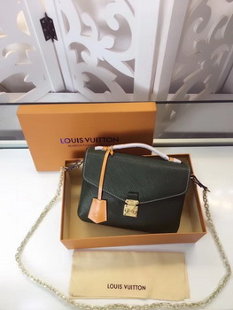 Louis Vuitton Epi Leather POCHETTE METIS M40780 Green