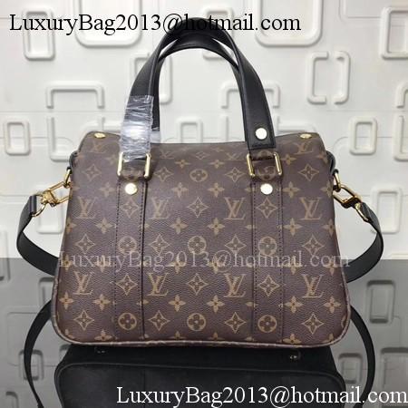 Louis Vuitton Monogram Canvas MANHATTAN Bag M43482 Black