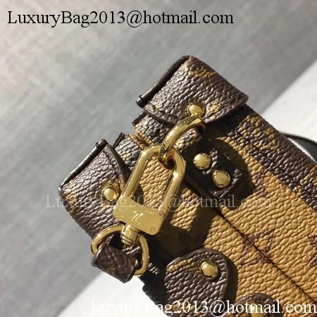 Louis Vuitton Petite Malle Monogram Canvas Bag M44154 Reverse