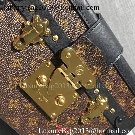 Louis Vuitton Petite Malle Monogram Canvas Bag M44154