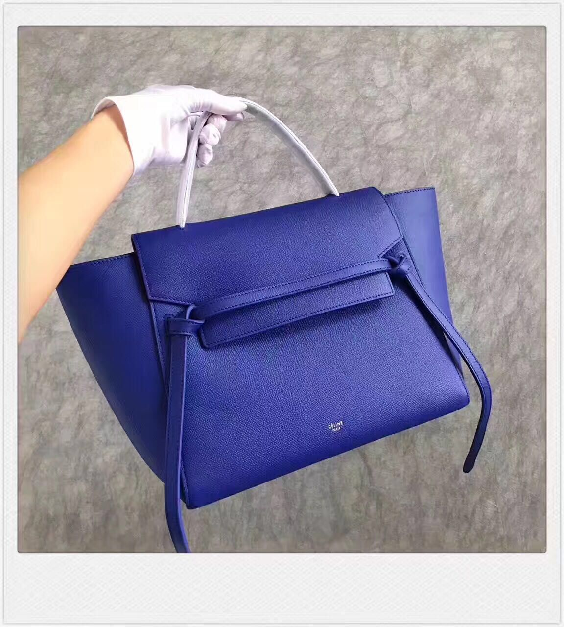 Celine Belt Bag Original Leather C98312 Blue