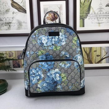 GUCCI GG Supreme Backpack 406370 Blue
