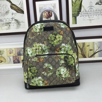 GUCCI GG Supreme Backpack 406370 Green