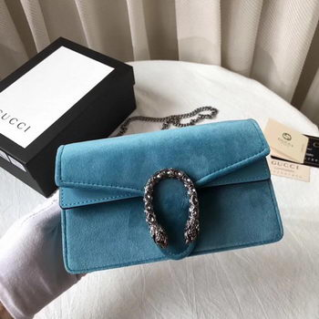 Gucci Dionysus Velvet Super mini Bag 476432 Green