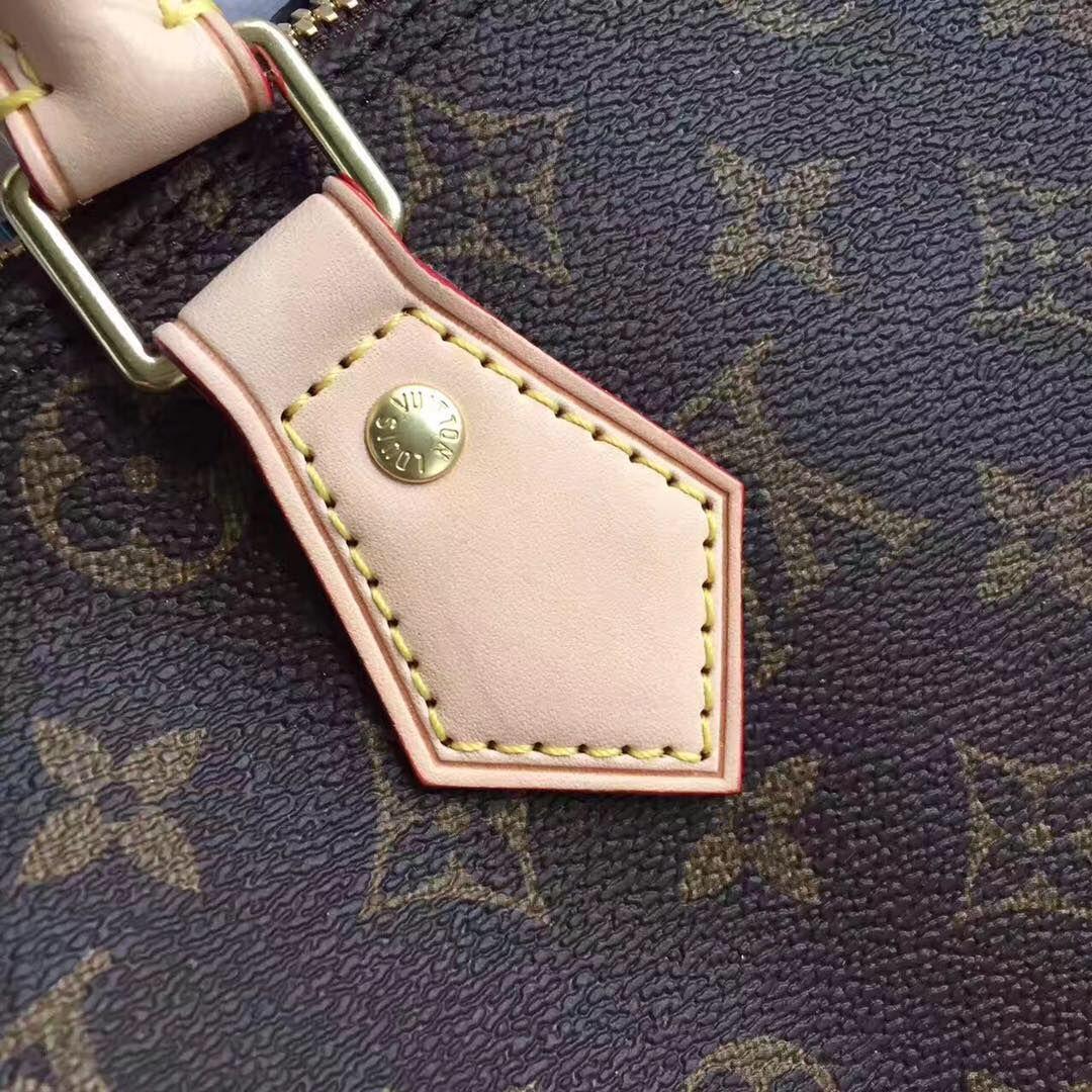 Louis Vuitton Monogram Canvas Speedy 30 with Shoulder Strap M40391