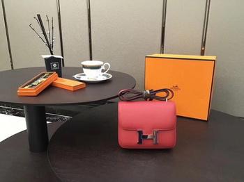 Hermes Constance Bag Original Calfskin Leather H9910 Red