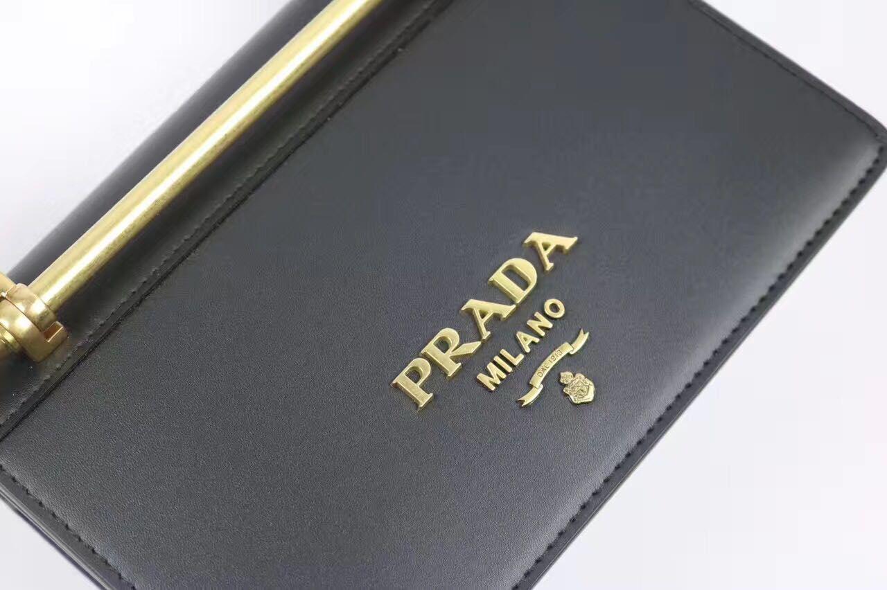 PRADA Shoulder Flap Bag Original Leather P2312