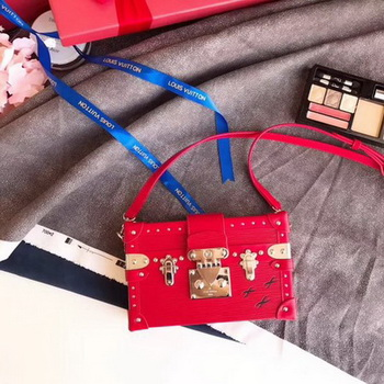 Louis Vuitton Epi Leather PETITE MALLE M50519 Red