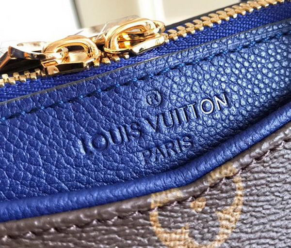 Louis Vuitton Monogram Canvas PALLAS BB M44034 Blue
