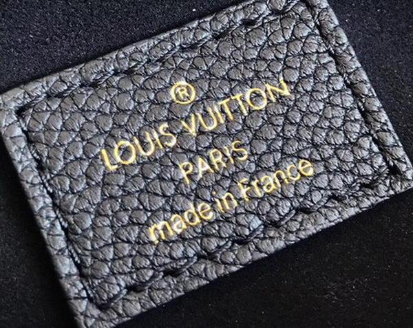 Louis Vuitton Monogram Canvas PALLAS M42810 Black