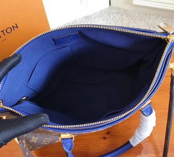 Louis Vuitton Monogram Canvas PALLAS M42810 Blue
