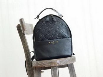 Louis Vuitton Monogram Empreinte SORBONNE BACKPACK M44019 Black