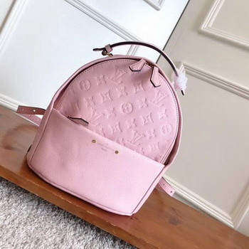 Louis Vuitton Monogram Empreinte SORBONNE BACKPACK M44019 Pink