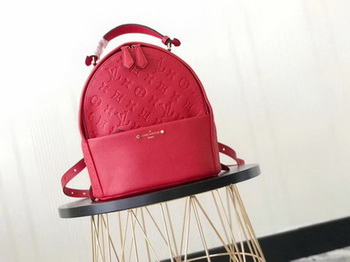 Louis Vuitton Monogram Empreinte SORBONNE BACKPACK M44019 Red