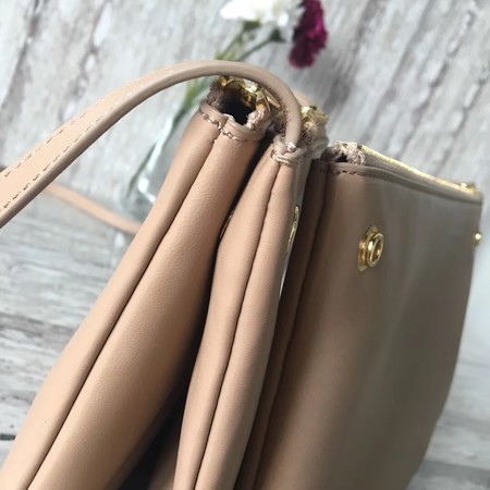 Celine Trio Crossbody Messenger Bag C55421 Apricot