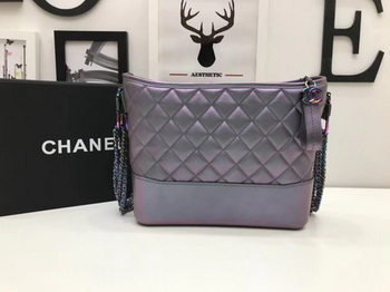 Chanel Gabrielle Shoulder Bag Original Sheepskin Leather A93842 Grey