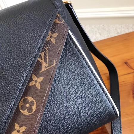 Louis Vuitton Monogram Canvas DOUBLE V M54439 Black