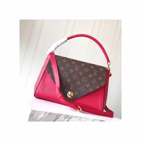 Louis Vuitton Monogram Canvas DOUBLE V M54439 Red