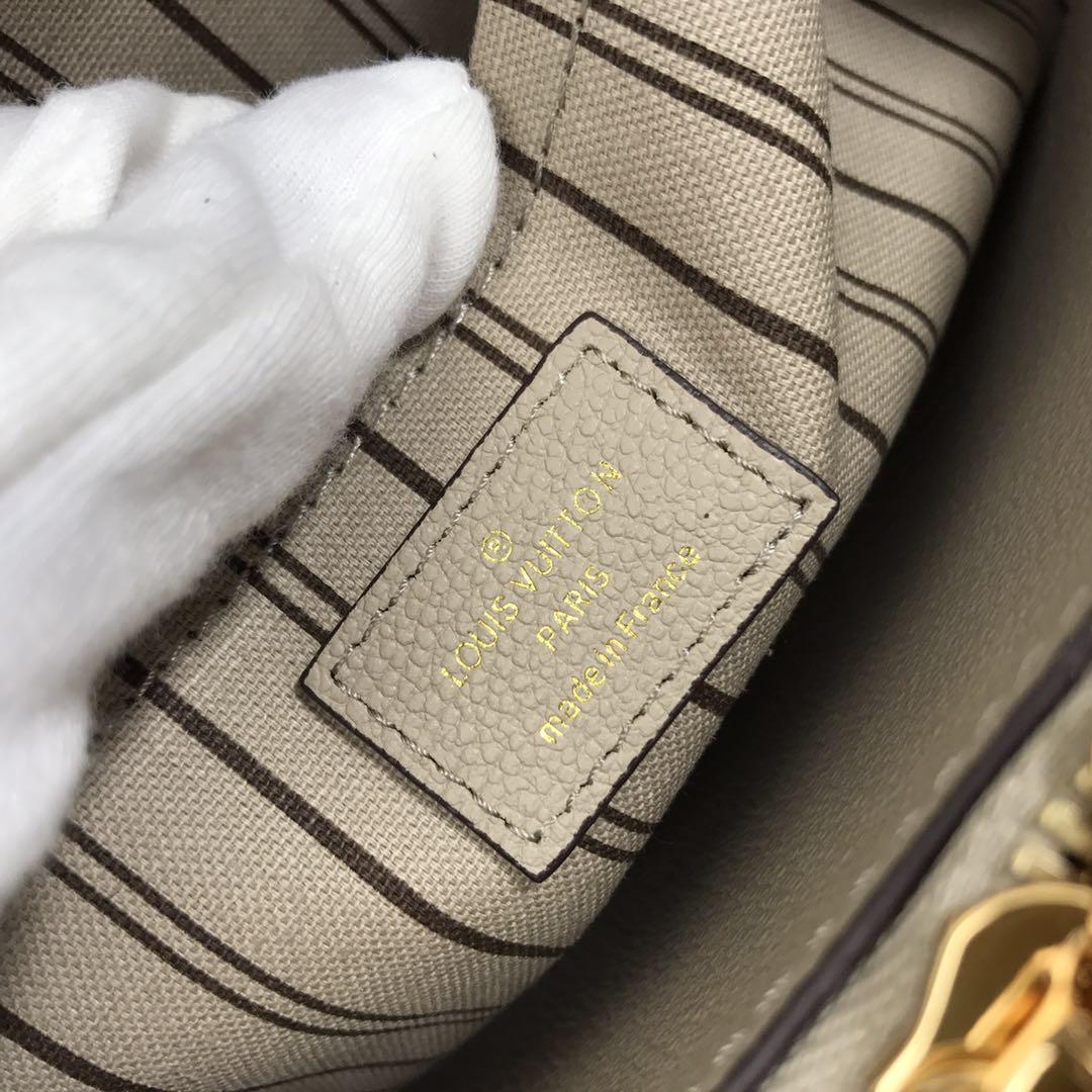 Louis Vuitton Monogram Empreinte Original Leather M43248 Grey