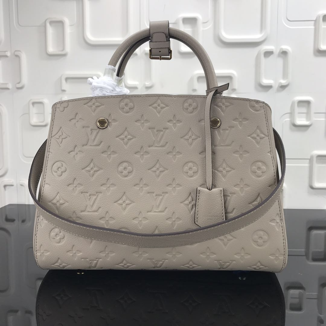Louis Vuitton Monogram Empreinte Original Leather M43248 Grey