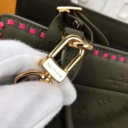 Louis Vuitton Monogram Empreinte VOSGES MM M43249 Khaki