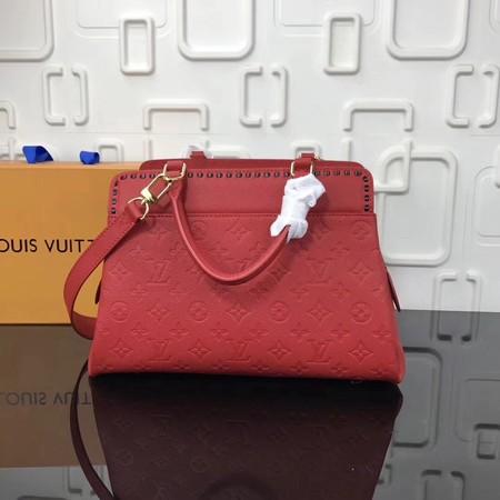 Louis Vuitton Monogram Empreinte VOSGES MM M43249 Red