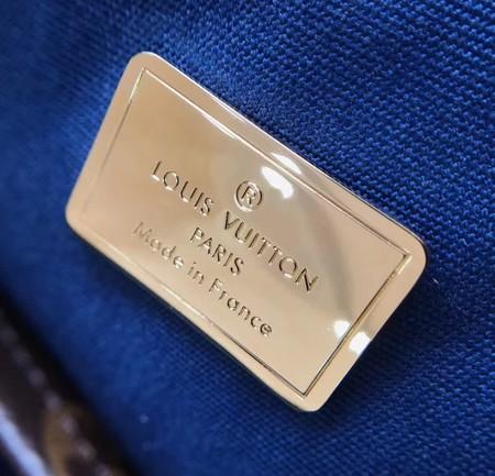 Louis Vuitton Monogram Vernis ALMA BB M54704 Blue