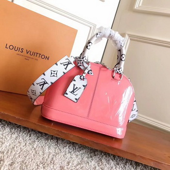 Louis Vuitton Monogram Vernis ALMA BB M54704 Pink