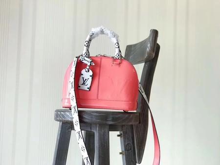 Louis Vuitton Monogram Vernis ALMA BB M54704 Pink
