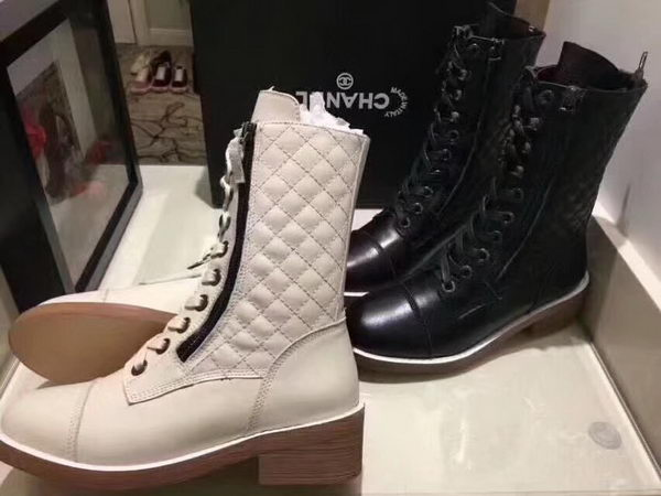 Chanel Ankle Boot CH2221365 Offwhite