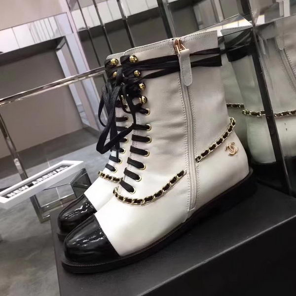 Chanel Ankle Boot CH2223365 White