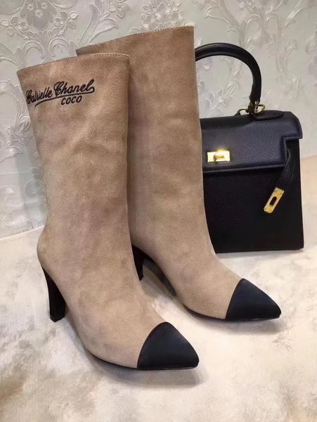 Chanel Knee Boot CH2211365 Apricot